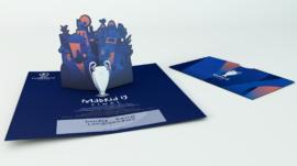 Invitación POP UP UEFA